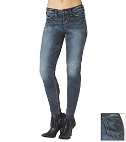 Silver® Jeans Suki Mid-Rise Super Skinny Jeans