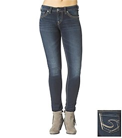 Silver Jeans Co. Suki Mid-Rise Pencil Skinny Jeans