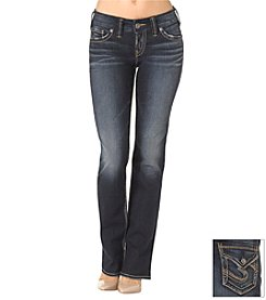 Silver® Jeans Suki Mid-Rise Slim Bootcut Jeans