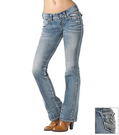 Silver® Jeans Suki Mid-Rise Slim Bootcut Jean