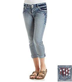 Wallflower® American Bling Capri Jeans