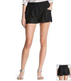 KIIND OF Lace Track Shorts