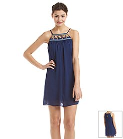 My Michelle® Trapeze Smock Dress