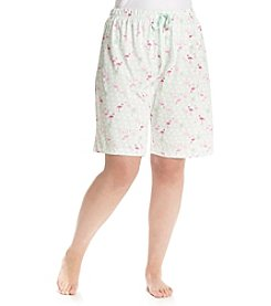 KN Karen Neuburger Plus Size Lounge Bermuda Shorts
