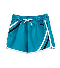 PUMA® Girls' 7-16 Mesh Gym Shorts