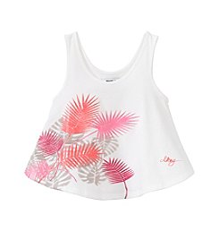 DKNY® Girls' 4-6X Block Party Swing Tank