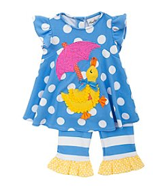 Rare Editions® Girls' 2T-4T 2-Piece Duckling Set