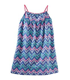 OshKosh B'Gosh® Girls' 2T-4T Chevron Jersey Dress