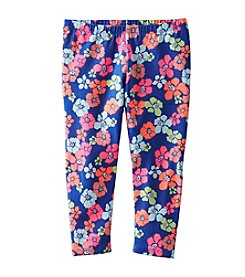 OshKosh B'Gosh® Girls' 2T-4T Neon Printed Capri Leggings