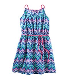 OshKosh B'Gosh® Girls' 4-6X Chevron Jersey Dress