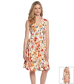 Jones New York Collection® Floral Dress
