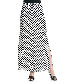 Jones New York Sport® Chevron Maxi Skirt