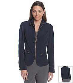 Jones New York Signature® Zip Front Jacket