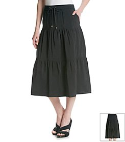 Jones New York Signature® Drawstring Skirt