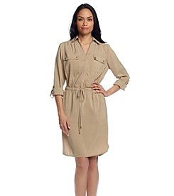 Jones New York Signature® Roll Tab Dress