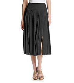 Jones New York Collection® Pleated Midi Skirt