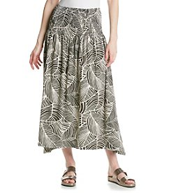 Jones New York Sport® Printed Sharkbite Skirt