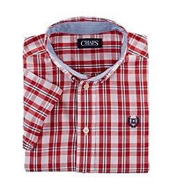 Chaps® Boys' 8-20 Short Sleeve Woven Shirt