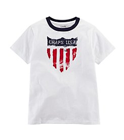 Chaps® Boys' 2T-7 Short Sleeve Graphic Tee