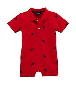 Chaps® Baby Boys' Schiffli Shortall