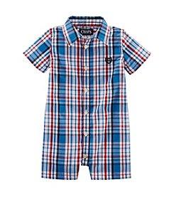 Chaps® Baby Boys' Woven Shortall