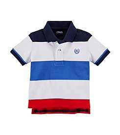 Chaps® Baby Boys' Lifesaver Striped Polo