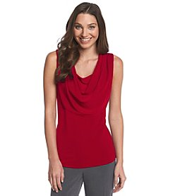 Notations® Solid Drape Knit Top