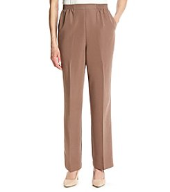 Alfred Dunner® Indian Summer Solid Pull On Average Pants