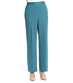 Alfred Dunner Lake Meade Solid Pull On Pants
