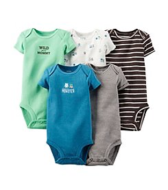 Carter's Baby Boys' 5-Pack Short Sleeve Bodysuits