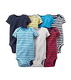 Carter's Baby Boys' 7-Pack Short Sleeve Bodysuits