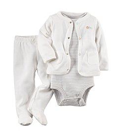 Carter's® Baby 3-Piece Cardigan Outfit Set