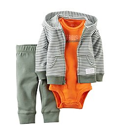 Carter's® Baby Boys' 3-Piece Hooded Cardigan Set