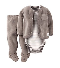 Carter's® Baby Boys' 3-Piece Terry Cardigan Outfit Set