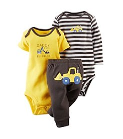 Carter's® Baby Boys' 3-Piece Bodysuit & Pants Set