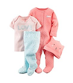 Carter's® Baby Girls' 4-Piece Take-Me-Home Set