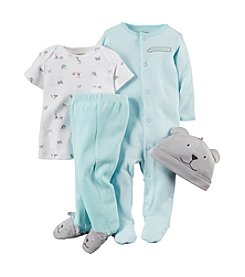 Carter's® Baby Boys' 4-Piece Take-Me-Home Set