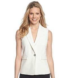 Nine West® Notch Collar Vest