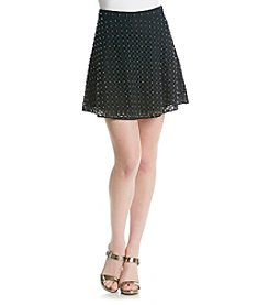 MICHAEL Michael Kors® Eyelet Rhinestone Skirt