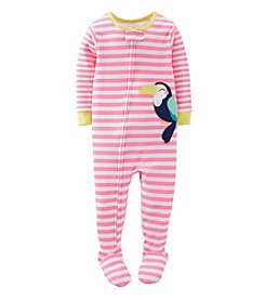 Carter's® Baby Girls' 1-Piece Snug Fit Cotton Toucan Pjs
