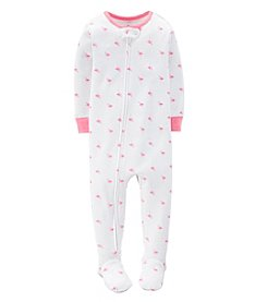 Carter's® Baby Girls' 1-Piece Snug Fit Cotton Pjs
