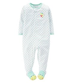 Carter's® Baby Girls' 1-Piece Jersey Pjs