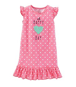 Carter's® Girls' 2T-14 Oh Happy Day Gown