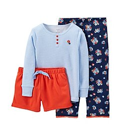 Carter's® Girls' 8-14 3-Piece Floral Print Set