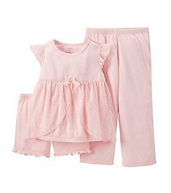 Carter's® Girls' 8-14 3-Piece Solid Color Set