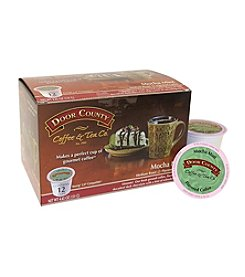 Door County Mocha Mint Flavored Coffee 12-Pk. Single Serve Cups