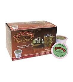 Door County Mocha Mint Flavored Coffee 12-Pk. Single Serve Cups