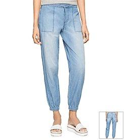 Calvin Klein Jeans Drawstring Denim Pants