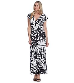 Prelude® Palm Print Maxi Dress