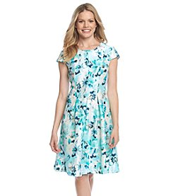 K. Studio® Floral Fit And Flare Dress